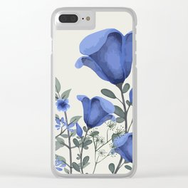 Flowers -a6 Clear iPhone Case