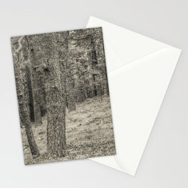 In the forest #3 Stationery Cards