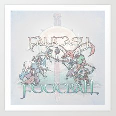 Fantasy Football Art Print
