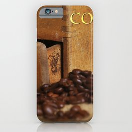 old coffee grinder iPhone Case