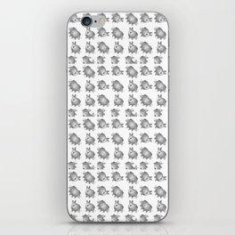 white rabbits iPhone Skin