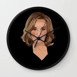 On Wednesdays, We Wear Black Wall Clock