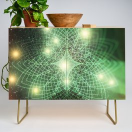 Geometry Dreaming Credenza