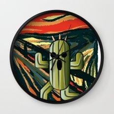 Cactilion Wall Clock