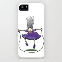 Jumprope Girl iPhone Case