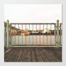BY THE DOCK OF THE BAY Canvas Print