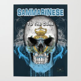 To The Core Collection: San Marino Poster