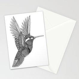 Hummingbird Zentangle Stationery Cards