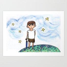 Like A Child Art Print