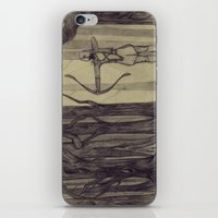 legolas iPhone & iPod Skins featuring Legolas LOTR - the noisy silence of woods by Blanca MonQnill Sole