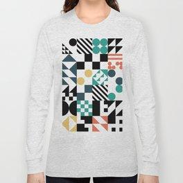 RAND PATTERNS #81: Procedural Art Long Sleeve T-shirt