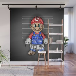 It's ME, Evil Mario !  Wall Mural