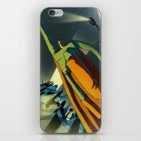 superman iPhone & iPod Skins featuring Superman by Peerro