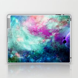 Teal Galaxy Laptop & iPad Skin