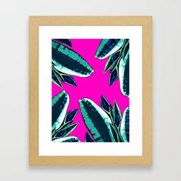 Dusk in summer Framed Art Print
