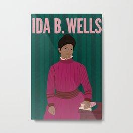 Ida B Wells Metal Print