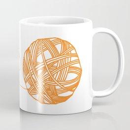 MKG Yarn - Orange Coffee Mug