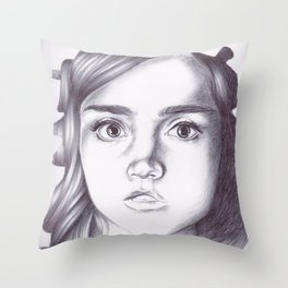 oswin oswald Throw Pillow