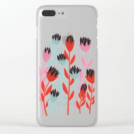 Imaginary Lotus Together Clear iPhone Case