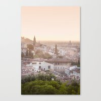 florence Canvas Prints featuring Florence by ocophoto