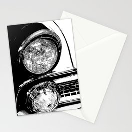 Vintage Car Taillights Stationery Cards