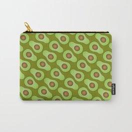 Spot-o-Cado - avocado green Carry-All Pouch