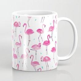 Watercolour Flamingoes Coffee Mug