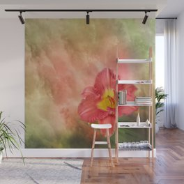 Beautiful day lily Wall Mural
