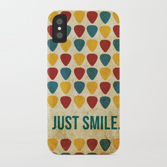 Just Smile. iPhone Case