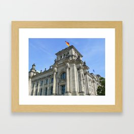 Reichstag, Berlin, Germany Framed Art Print