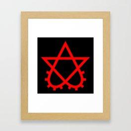 Scrotogram Framed Art Print