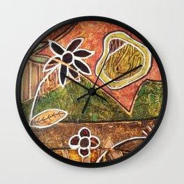 EL SOL Y LA FLOR Wall Clock