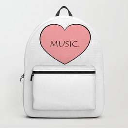Music. Backpack