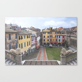 ITALY STREETS Canvas Print