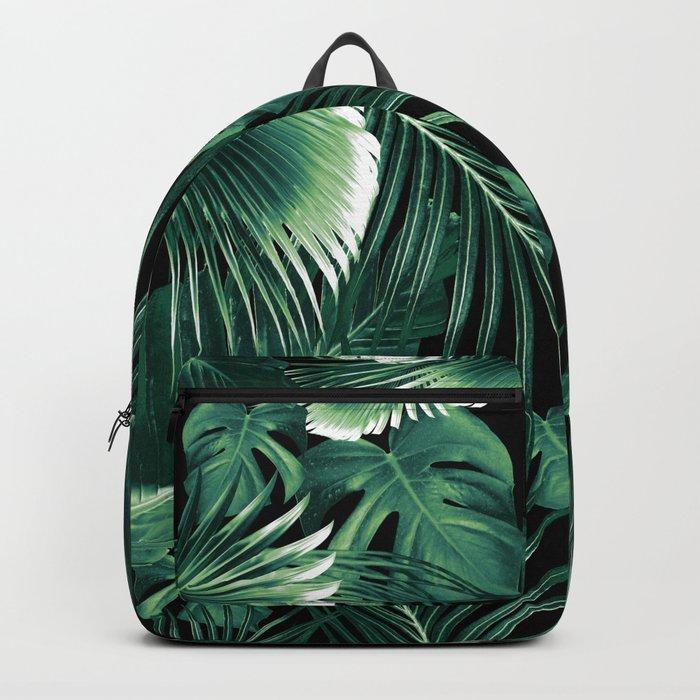Tropical Jungle Leaves Dream #6 #tropical #decor #art #society6 Backpack
