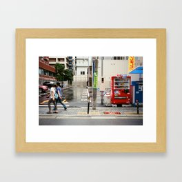 Osaka Framed Art Print