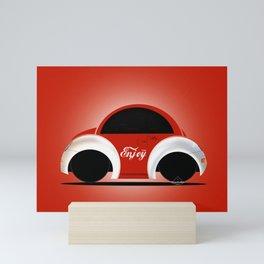 Beetle Volky Mini Art Print