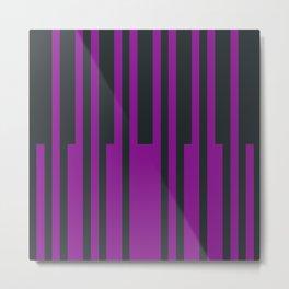 Mixing Stripes Metal Print