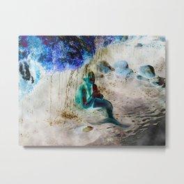 Mermaid: Front Metal Print
