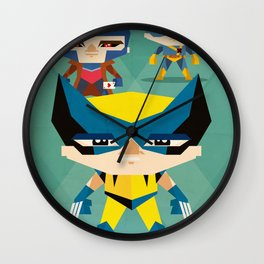 X Men fan art Wall Clock