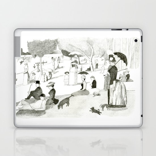 Seurat Sunday Afternoon Laptop & iPad Skin