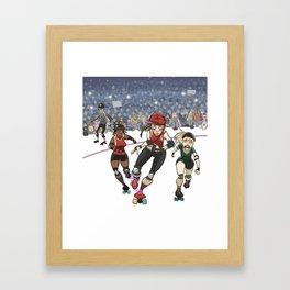 Lead Jammer Framed Art Print