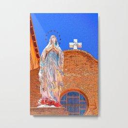 San Albino Basilica, Mesilla, New Mexico Metal Print