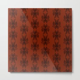 Zentangle Metal Print
