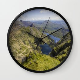 Snowdon Summit Wall Clock