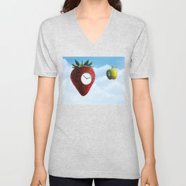 D (StrawberryClock's Dream) Unisex V-Neck