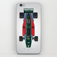 Outline Series N.º2, Mario Andretti, Lotus 80-Ford 1980 iPhone Skin