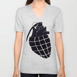 Heart Grenade II Unisex V-Neck
