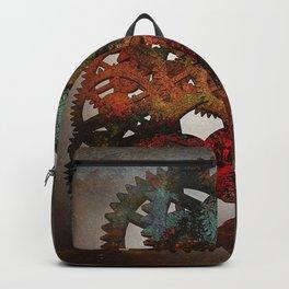 Industrial Rust Backpack