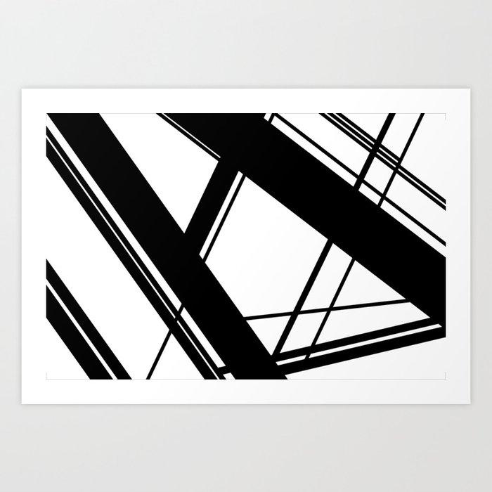 Fast foward Art Print